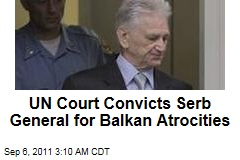 UN Court Convicts Serb General Momcilo Perisic for Balkan Atrocities