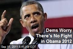 Dems Worry There's No Fight in Obama 2012