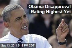 President Obama Disapproval Rating Highest Yet at 55%: CNN Poll