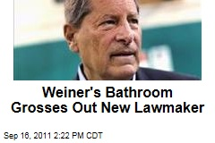 Congressman Turner's Family Horrified by Toothbrush in Anthony Weiner's Bathroom