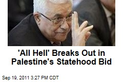 Palestinian President Mahmoud Abbas Under Pressure in Palestine Statehood Bid