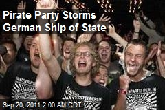 Pirate Party Storms German Ship of State