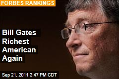 Bill Gates, Warren Buffett, Larry Ellison, George Soros Among Richest Americans on Forbes List