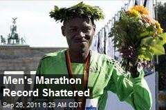 Men's Marathon Record Shattered