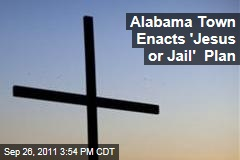 Alabama Town Gives Misdemeanor Offenders Choice Between Church and Jail