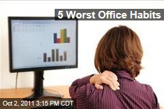 Professionals Name Most Irritating Office Habits