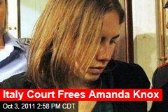 Amanda Knox Freed: American Student's Murder Conviction Overturned in Italy