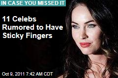 Miranda July, Courtney Love, Megan Fox, and Other (Alleged) Celebrity Thieves