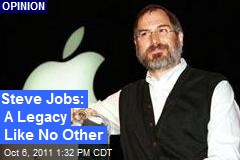 Steve Jobs: A Legacy Like No Other