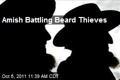 Amish Battling Beard Thieves