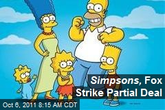 Simpsons, Fox Strike Partial Deal
