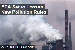Environmental Protection Agency Offers Looser Air Pollution Rules