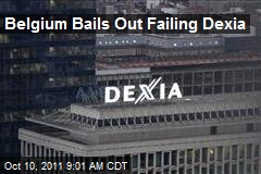 Belgium Bails Out Failing Dexia