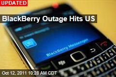 BlackBerry Hit By Day 3 of Outages