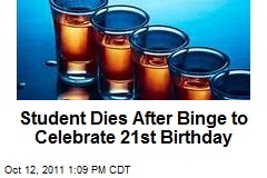 Student Dies After Binge to Celebrate 21st Birthday