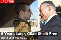 Gilad Shalit Freed as Hamas Prisoner Exchange Begins