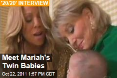 Mariah Carey Shows Off Twin Babies, Talks Miscarriage and Fertility Treatments, With Barbara Walters
