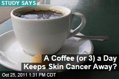 Coffee Reduces Skin Cancer Risk: Study