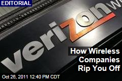 How Verizon and Other Wireless Companies Rip You Off