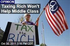Taxing Rich Won't Help Middle Class: Ross Douthat