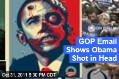 Virginia Republican Email Portrays Obama With Bullet Wound