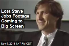 Lost Steve Jobs Interview to Coming to Big Screen