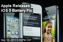 Apple Releases iOS 5 Battery Fix
