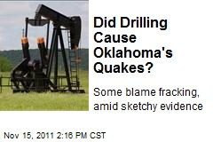 Did Drilling Cause Oklahoma's Quakes?