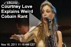 VIDEO: Courtney Love Rants About Kurt Cobain, Nirvana, Dave Grohl, and the Foo Fighters at Concert (Before Going Topless)