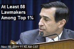 At Least 58 Lawmakers Among Top 1%