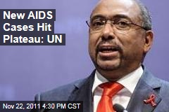 UNAIDS: New AIDS Cases Plateau