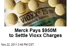 Merck Will Pay $950 Million to Settle Justice Department Allegations on Marketing of Vioxx