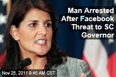 Nathan Shafer Arrested After Facebook Threat to South Carolina Governor Nikki Haley