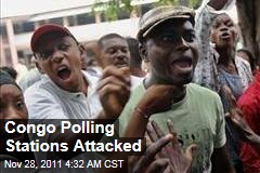 Democratic Republic of Congo Polling Stations Attacked