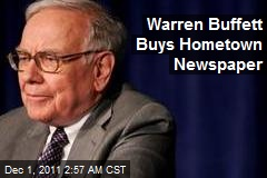 Warren Buffett Buys Hometown Newspaper