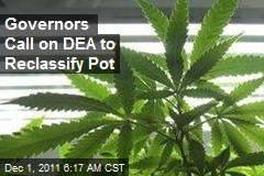 Governors Call on DEA to Reclassify Pot