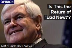 Is This the Return of &amp;#39;Bad Newt&amp;#39;?