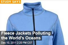 Fleece Jackets Polluting the World's Oceans: Study