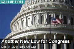 Another New Low for Congress