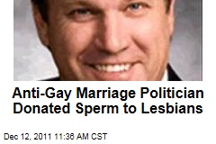 Anti-Gay Marriage Politician Bill Johnson Donated Sperm to Lesbians