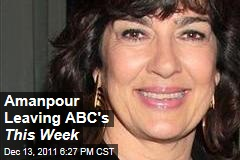 Christiane Amanpour Will Leave ABC's This Week as George Stephanopoulos Returns
