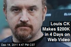 Louis CK Makes $200K in 4 Days on Web Video