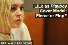 Lindsay Lohan Playboy Issue - Hugh Hefner Says It's Setting Records, but Not Everyone Agrees