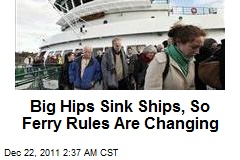 Moose Hips Sink Ships, So Ferry Rules Are Changing