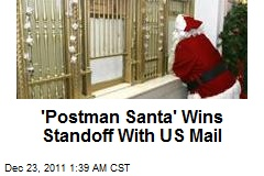 'Postman Santa' Wins Standoff With US Mail