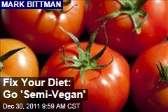 Mark Bittman: Go 'Semi-Vegan' for a Better Diet