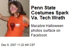 Penn State Costumes Spark Va. Tech Wrath