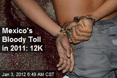 Mexico&amp;#39;s Bloody Toll in 2011: 12K