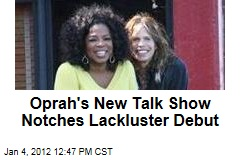 &#39;Oprah&#39;s Next Chapter&#39; Debuts to an Audience of 1.1M on the Oprah Winfrey Network