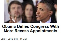 President Obama Makes Three Recess Appointments to the National Labor Relations Board